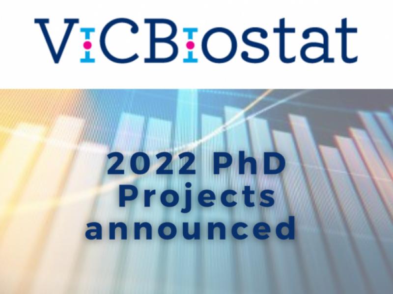 ViCBiostat 2022 PhD Projects